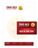 Taxi 023 in Haarlem